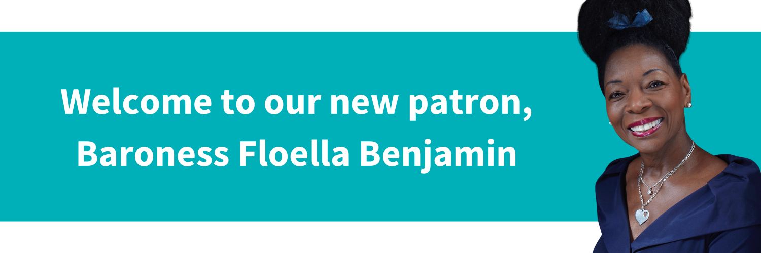 Welcome to our patron Baroness Floella Benjam